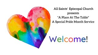 """""""'A Place At The Table"""" Sunday"""" 