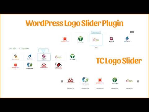 WordPress slider logo