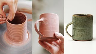 How to Make a Poтtery Mug, from Beginning to End.