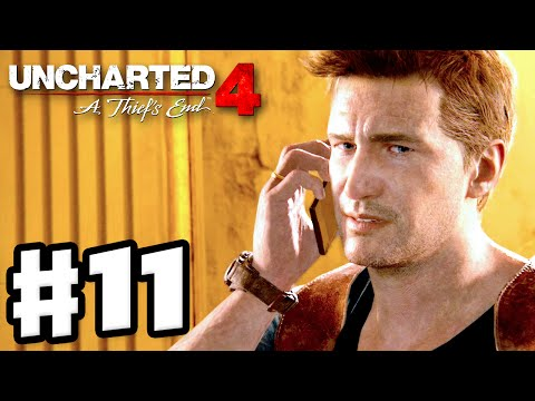 Uncharted 4: A Thief's End - Gameplay Walkthrough Part 11 - Chapter 11: Hidden in Plain Site (PS4)