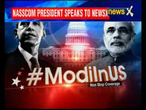 Nasscom President R Chandrashekhar speaks to NewsX
