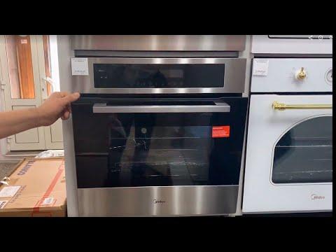 Обзор встраиваемой техники Midea для кухни.