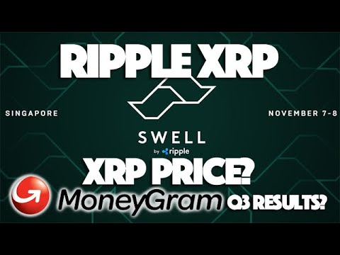 Ripple XRP: Will XRP Price Swell At Swell After Q3 MoneyGram Results & +30 New Ripple Deals A Week?