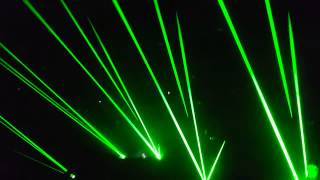 Zedd live, from the floor, lasers awesome! Into the Lair