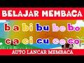 BELAJAR MEMBACA | MENGEJA HURUF ABJAD BAHASA INDONESIA