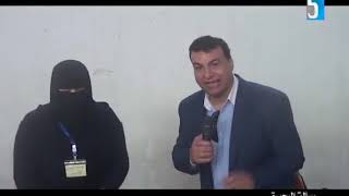 الاعلامي / عصام طلحه وتغطية لمعرض منتجات المرأة المعيلة بمدينة النوبارية الجديدة 17/2/2020