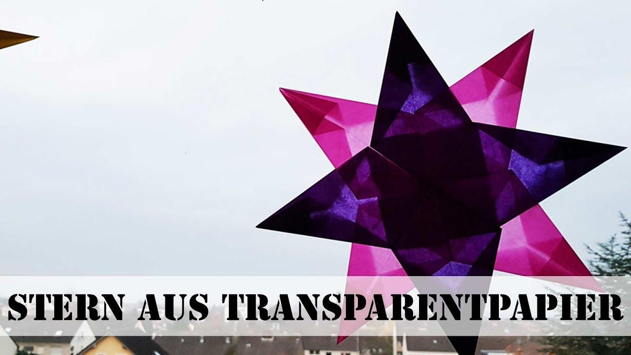 Stern Aus Transparentpapier