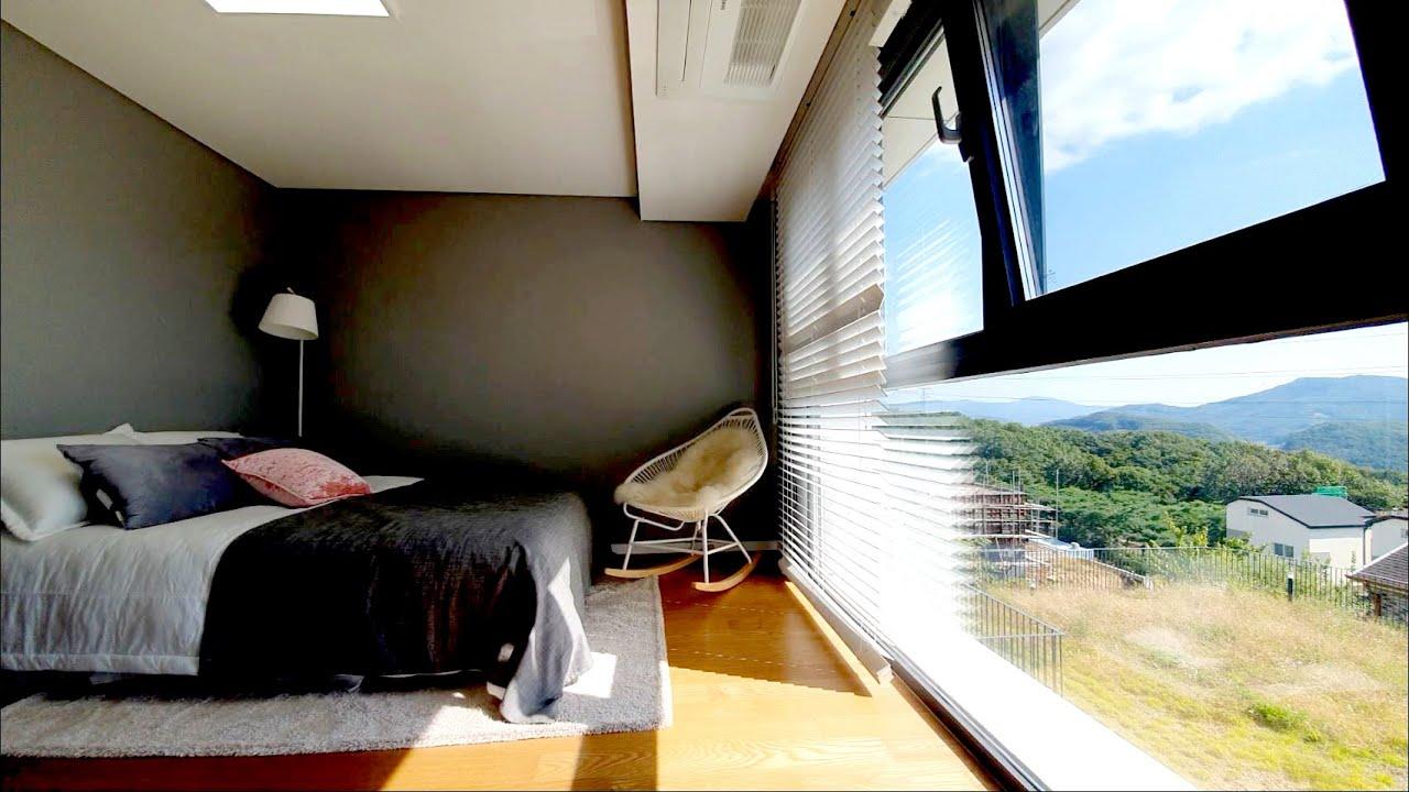 [C-168] # 가을 단풍놀이를 침실에서 느낄 수 있는 창문이 액자인 전원주택!