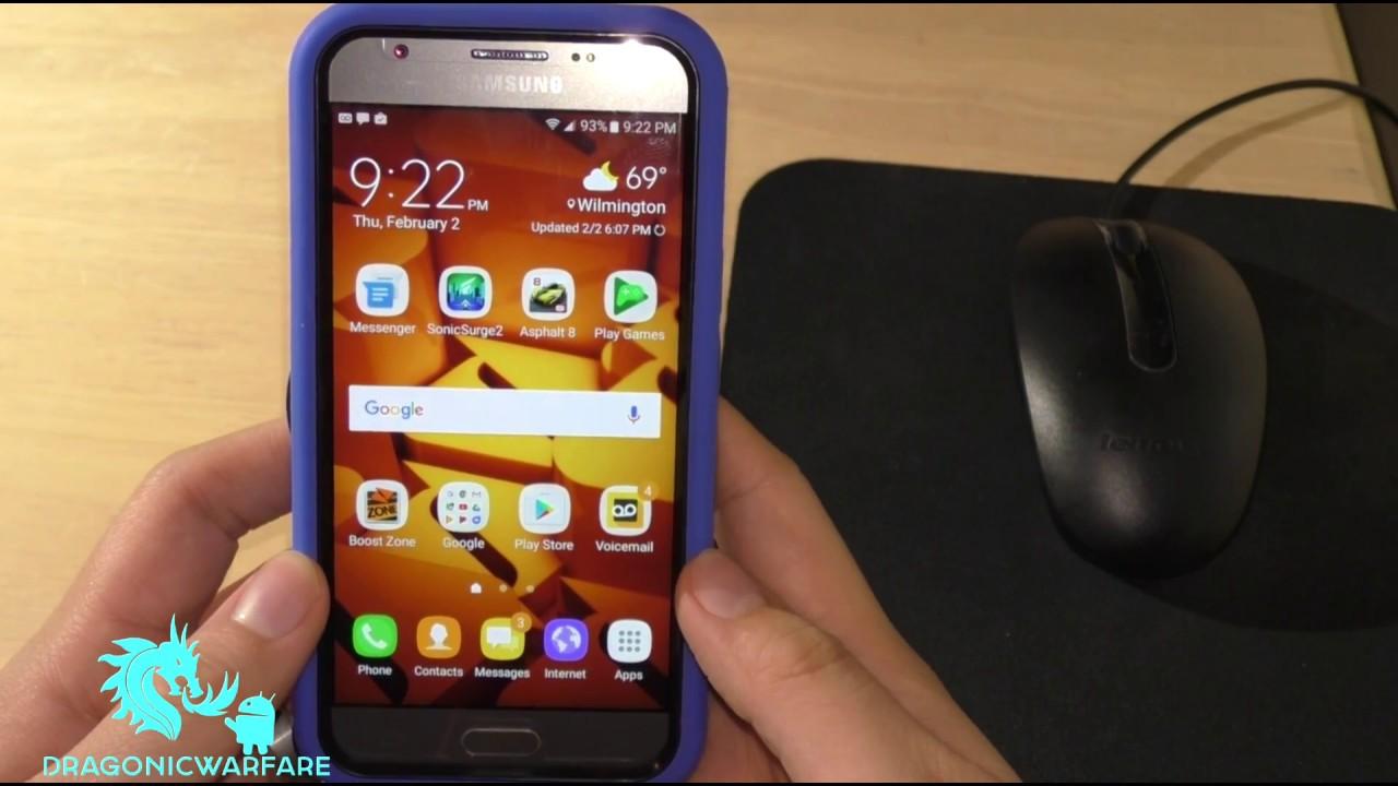 How to Screen Shot Samsung Galaxy J3 Emerge (HD)