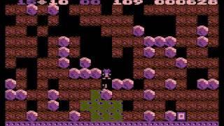 Boulder Dash - Orignal Atari Gameplay