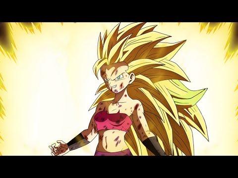 Dragon Ball Super - Episódio 113 - Caulifla SSJ 3 Fan Art