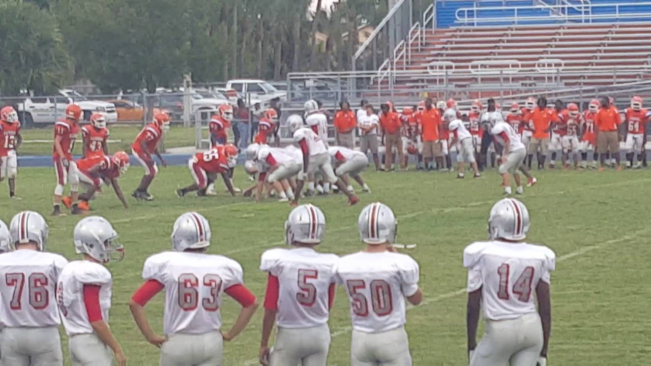 Seminole Ridge freshman vs Palm Beach Gardens - YouTube
