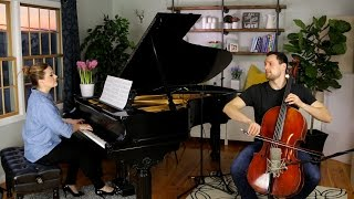 Blackbird - The Beatles (Cello + Piano Cover by Brooklyn Duo)