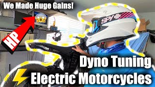 How to Increase Horsepower on Your Electric Motorcycle + Denzel Samurai Dyno Results!