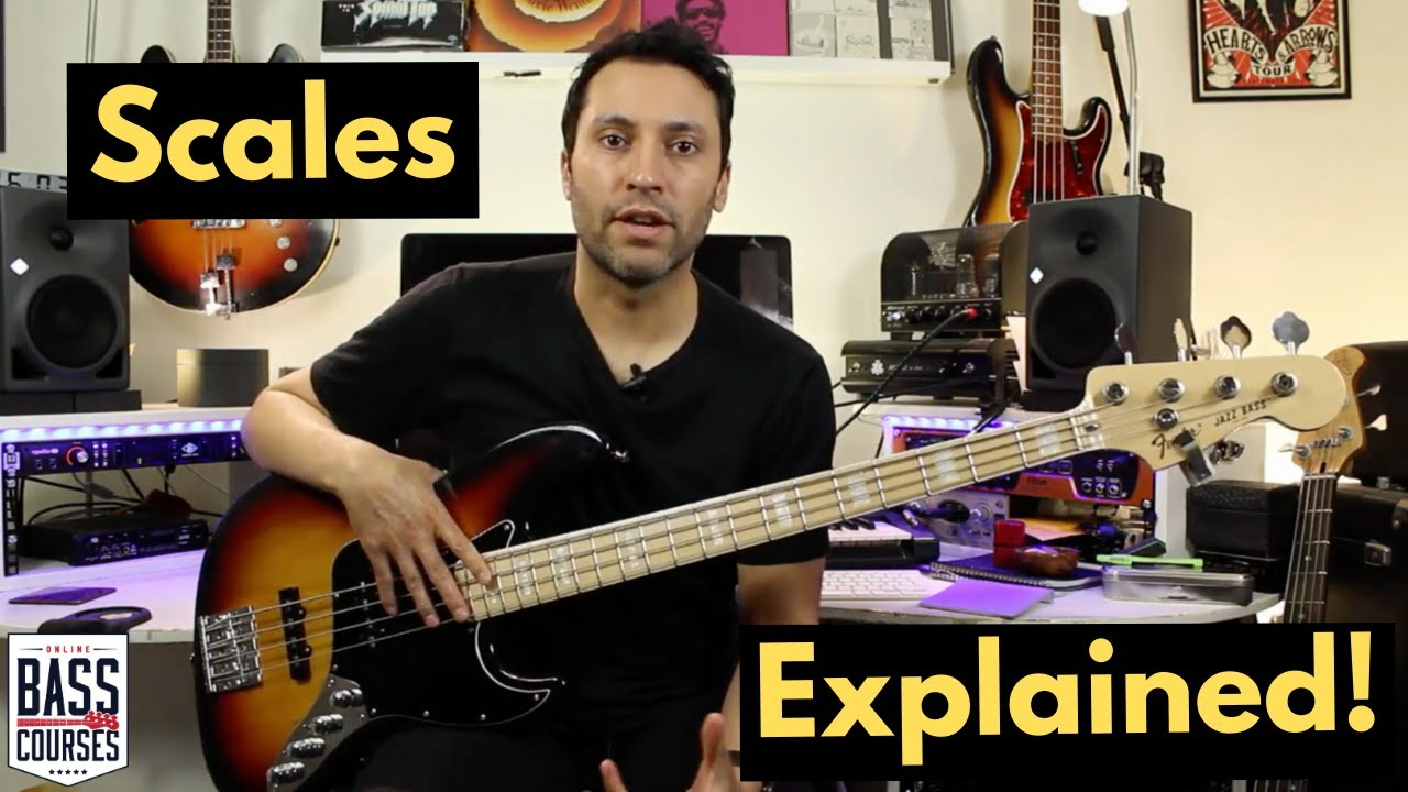 Learn Major Scales On Bass Guitar - Free downloads and ...