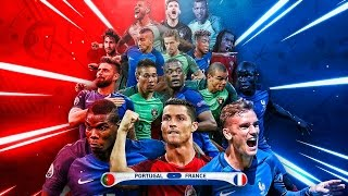FRANCIA VS PORTUGAL | FINAL EUROCOPA DRAFT!!!