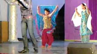 Dharti sunehri amber neela by Vikram shukla on 22102011 in diwali mela Salwaan Girls School.mp4