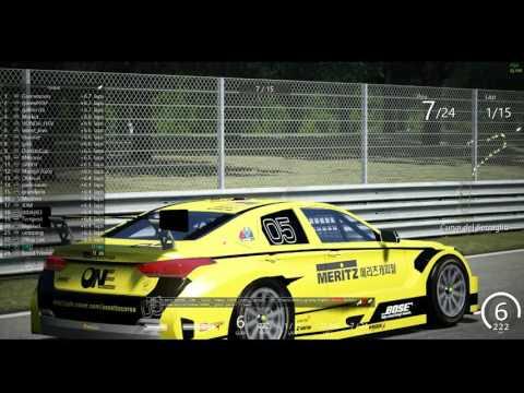 2016 CJ Korea Express Superrace Assetto Corsa Championship S01 R03 Monza