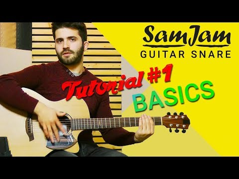 SamJam Tutorial Nr. 1 with Luca Stricagnoli - Basics // How to play the guitar snare