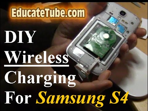 How to make DIY Wireless Inductive Charger for Samsung S4 smartphone - Cool Mod