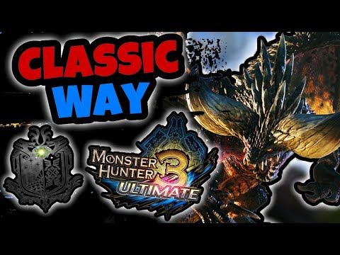 IS IT POSSIBLE TO BEAT MONSTER HUNTER WORLD LIKE IT'S A CLASSIC MONSTER HUNTER GAME!? Part 1 |