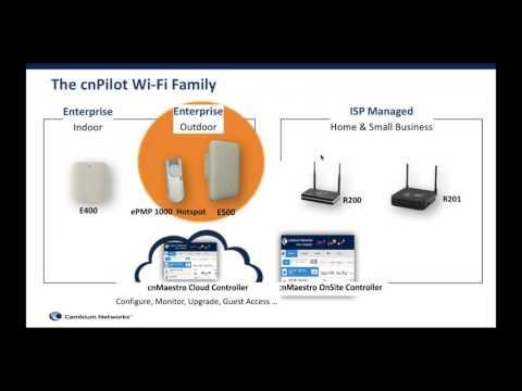 cnPilot Outdoor Enterprise WiFi