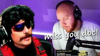 Timthetatman is Sad Because He Cant Play with the Doc.