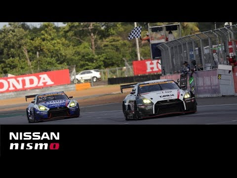 SUPER GT 2019 Rd.4(Thailand) Race Day Digest