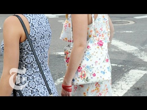 Summer Prints | On the Street w/ Bill Cunningham | The New York Times