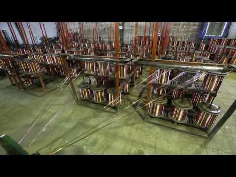 видео: Хайам Электрик Россия. Цех кабельной продукции. Продажа электроустановочных изделий оптом