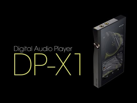 DP-X1: Portable Hi-Res Digital Audio Player