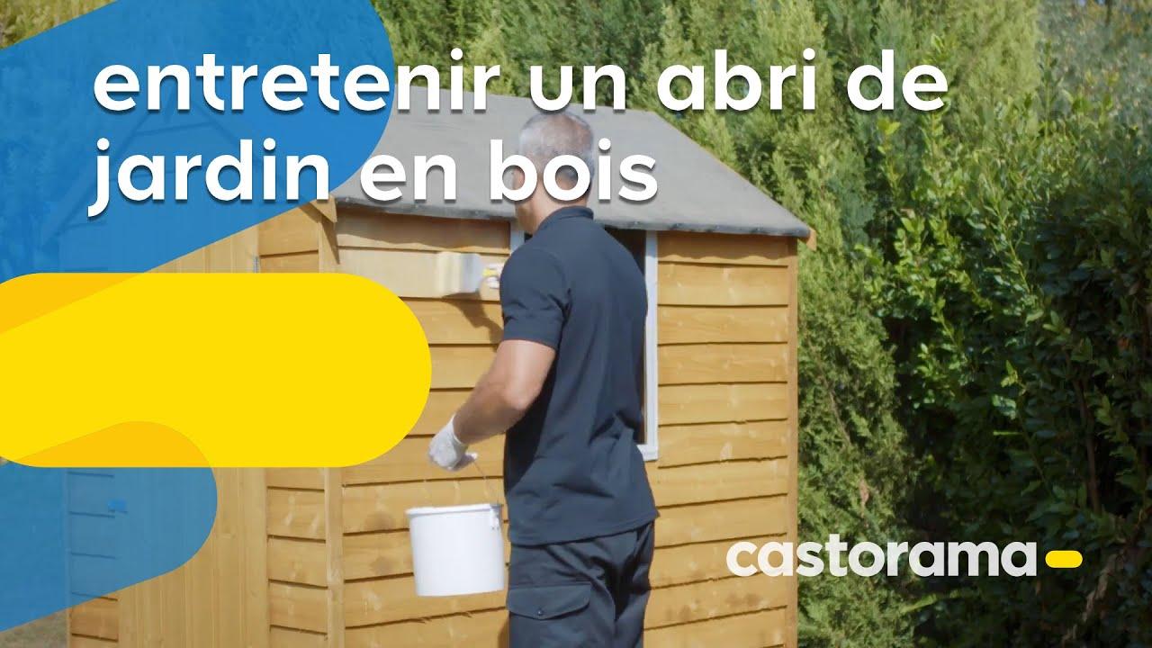 Comment Entretenir Un Abri De Jardin En Bois Castorama