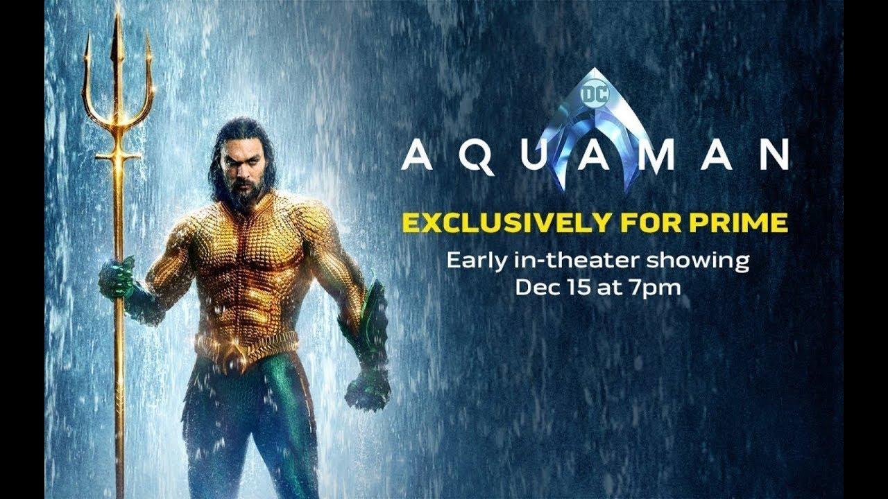 Aquaman Trailer 3 Subtitulado Hd Youtube