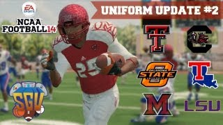 NCAA Football 14: Uniform Pack 2 Available Now!