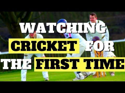 AMERICAN REACTS TO CRICKET FOR THE FIRST TIME (and loves it...)