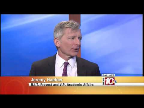 RIT on TV: Provost explains RIT's new status as doctoral university - WHEC