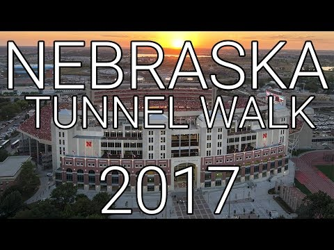 Nebraska Huskers Football Tunnel Walk 2017 - Arkansas St, 2 September
