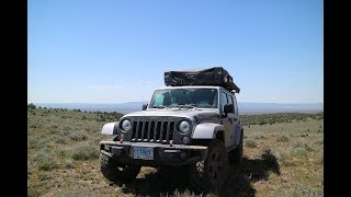 Oregon Overland Jeep Camping Adventure  - Remote Oregon Desert Trails to the Maury Mountains