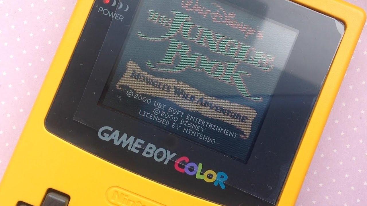 Gameboy color jungle book - The Jungle Book Mowgli S Wild Adventure