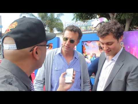 Jonathan Goldstein and John Daley  Cloudy with a Chance of Meatballs 2 Red Carpet