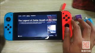 任天堂NS SWITCH大气层U盘注入器破解和安装游戏使用教程