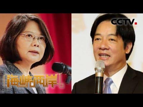 《海峡两岸》蔡赖斗 民进党现分裂危机 20190322 | CCTV中文国际
