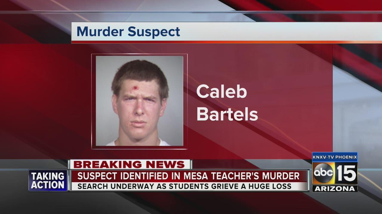 Police identify suspect in Mesa math teacher homicide