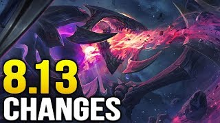 Big new changes coming soon in Patch 8.13 (League of Legends)