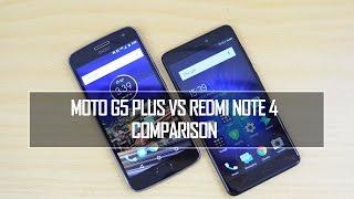 Moto G5 Plus vs Xiaomi Redmi Note 4- Comparison, Speed, Camera and Battery Life