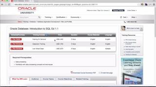 Lesson 1 (Complete Oracle SQL Certification Course)