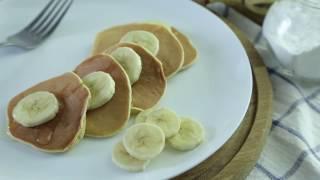 банановые панкейки без муки
