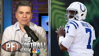Jacoby Brissett's new deal with Colts a win-win situation | Pro Football Talk | NBC Sports