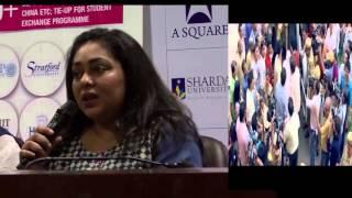 Irrfan Khan & Konkana Sen Sharma Visited Sharda University To Promote