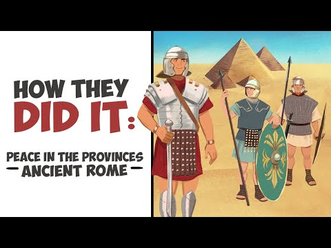 How Did Rome Maintain Peace in the Provinces? DOCUMENTARY